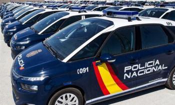 Localización de vehículos policía
