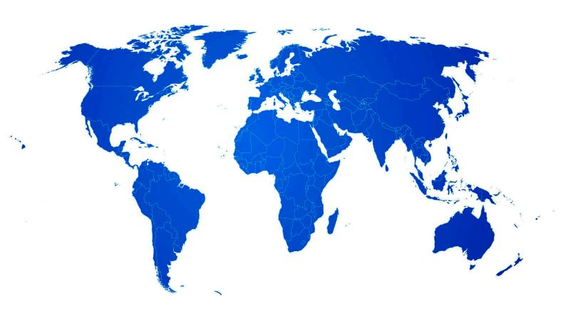 Localizador Sherlog presencia mundial